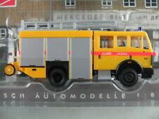 """Busch 43860 Mercedes-Benz MK 88 (1988) """"Brandweer 787 (NL)"""" 1:87/H0 NEU/OVP"""