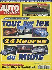 AUTO HEBDO n°1139 03/061998 Guide 24h du MANS FORD COUGAR V6