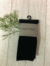 Ellen Tracy Black Fleeced Lined Cold Weather Tights Size  M / L
