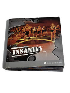 Insanity 10 DVD Disc Set Shaun T Beachbody Ultimate Cardio Workout Fitness