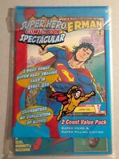1 DC Death Reign Return Superman  Doomsday A Team Card Factory Sealed Pack  NR