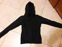 women's small black long sleeve LuLu lemon jacket