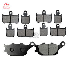 Front+Rear Brake Pads Fit For Yamaha YZF R1 2007-2014 2008 2009 2010 2011 YZF-R1