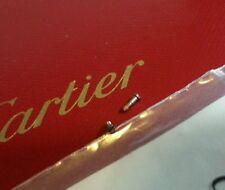 Cartier  sunglases eyeglases nosepad screw (2) platinium finish