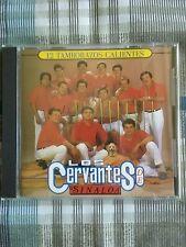"""LOS CERVANTES DE SINALOA  """"12 TAMBORAZOS CALIENTES """"CD BANDA"""