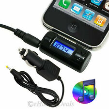 CAR BLUETOOTH WIRELESS MP3 PLAYER FM RADIO HANDSFREE TRANSMITTER CHARGER KIT UK