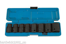 LASER 6490 Socket Set - Impact 1/2 Drive 8pc 10mm - 24mm