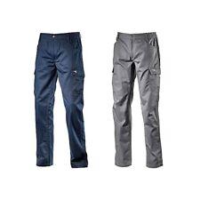 Diadora Utility Pant Level Iso Cargo Pantalone Lavoro Uomo Grigio Blu