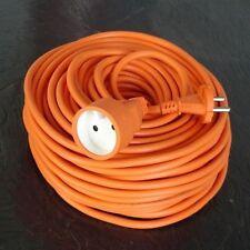 Rallonge électrique HO5VVF 2X1.5 orange 50m *NEUF*
