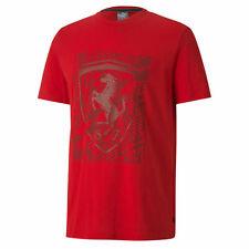 Puma Ferrari Groß Schild T-Shirt Grafik Logo T-Shirt 596127 02