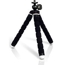 Piccolo Flessibile Cavalletto 1/4 Mini Treppiede per Fotocamera Canon Sony Nikon