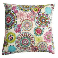 Schöner Leben Kissenhülle Mandala Blumen Muster bunt 40x40cm