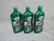 3 Pk Turtle Wax 16 Oz Liquid Super Hard Shell Car Wax T123R LOT OF 3 BOTTLES
