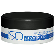SO Salon Only Groomed Strong Matt Paste 100g Sulfate - Paraben - Cruelty Free