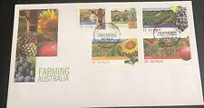 Australian FDC 2012 Farming Australia