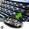 BLACK+SILVER oval front grille badge upgrade kit Genuine for Range Rover Vogue