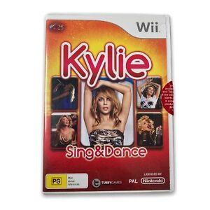KYLIE MINOGUE : SING & DANCE - Wii GAME - PAL