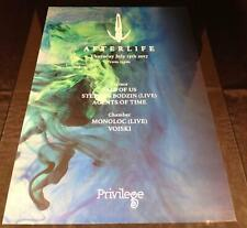 More details for afterlife 2017 tale of us @ privilege - ibiza club posters - techno music dj