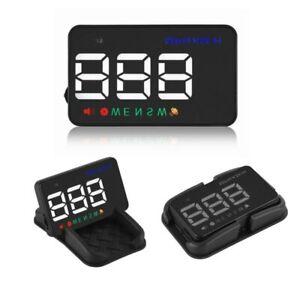 Car GPS Speedometer Head Up Display Digital Over Speed Alert Windshield Projetor