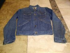 New listing Vtg Maverick Blue Bell Jacket 40 Men Cowboy Ranch Western 50S Denim Usa Trucker