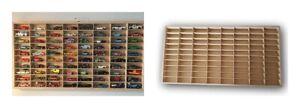 For Hot Wheels Display Case Diecast  Matchbox 1/64 Storage Cabinet Shelf 80 Cars