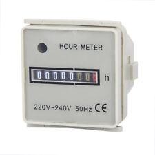 Hour Meter 220-240VAC 50Hz Square Digital Gauge Tool