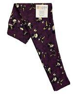 LuLaRoe OS Disney Leggings - #3535 - Minnie Mouse on Purple One Size