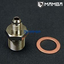 Adapter fitting Kit 4AN to M18x1.5 For TOYOTA 3S-GTE Turbo oil feed from engine
