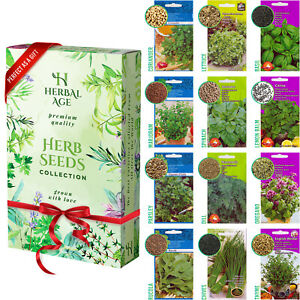 12 Herb Seeds Mix-8700 Plant Seed For Planting Indoor and Outdoor Grow Your Own