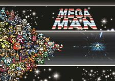 MEGA MAN COMPUTER VIDEO GAME RETRO PC GIANT ART POSTER PRINT  WA492