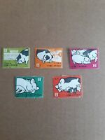 China 1960 Stamps: S40 Scott 518-522 Pig Breeding CTO fine used