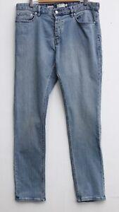 Fantastic TOPMAN Men's Stretch Slim Leg Jeans size 34L (W34 x L34)