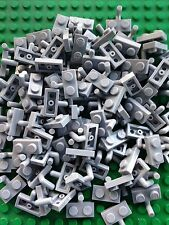 Lego 100 Light Bluish Gray Plate Modified 1 x 2 with Arm Up New
