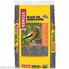 6 Pk Stokes Select Premium Black Oil Sunflower Single Seed Bird Seed 5# Bag 593