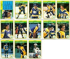 1982-83 O-PEE-CHEE LOS ANGELES KINGS 13 Vintage Hockey cards Team Lot RC NM