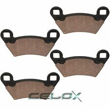 Front Brake Pads For Polaris Ranger 500 4X4 2002 2003 2004 2005 2006 2007
