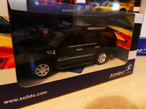 Cadillac Escalade in Black with sunroof & alloys Solido 1:43 SCALE in box