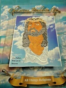"""Religious Art Series """" How I see Jesus"""" Traditional & Modern versions With frame"""