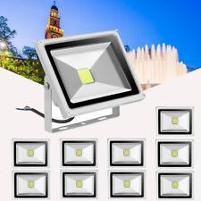 10 x 20W LED Flood Light Outdoor Security Garden Lamp Cool White 6000-6500K UK