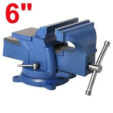 """Table Bench Vise 6"""" Work Bench Clamp Swivel Rotated Vice Hobby Craft Repair Tool"""