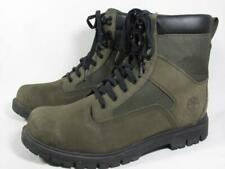 Timberland Classic Waterproof Boot Men size 8 Forest Green Leather