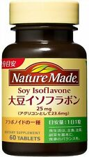 Nature Made Soy Isoflavone 60 Tablets Menopause Vitamin Mineral Supplement Japan