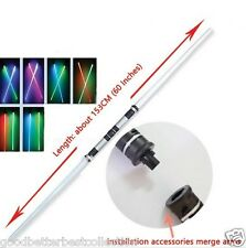 Star Wars Lightsaber Led Flashing Light Sword Toys Cosplay Weapons Double Sabers