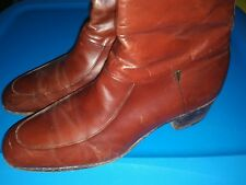 Florsheim Dress Shoe Boots Beatles Side Zip Royal Imperial FLORSHEIM 10.5 C Vtg