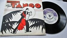 STANLEY BLACK ORCHESTRA DECCA DEMO EP 1976 DISCOVER THE TANGO 4 TRACKS PICSLEEVE