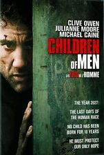 Children of Men (DVD, 2007) Michael Caine, Clive Owen, Julianne Moore NEW
