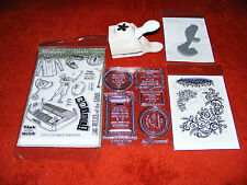New  &  Sealed  Embossing  Stamps  Plus  One &  A  Martha  Stewart  Stamp  Press