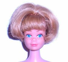 Vintage 1966 Blonde American Girl Bendable Leg Midge Barbie 1080 Japan