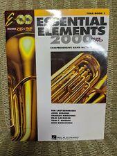 Essential Elements 2000 Plus Dvd - Tuba Book 1