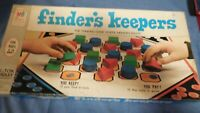 Vintage 1969 Milton Bradley Finder's Keepers Board Game
